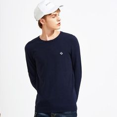 Pioneer Camp new basic classic men sweater brand-clothing simple solid sweater male top quality autumn pullover Pioneer Camp, Autumn Clothes, Summer Clothes, Classic Man, Pulls, Red And Blue, Summer Outfits, Men Sweater, Pullover