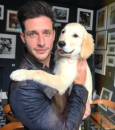 Sunday with this adorable little furball Dr Mike Varshavski, Hot Doctor, Doctor Mask, Foreign Celebrities, Wonder Man, Man And Dog, Attractive Guys, Men In Uniform, Mans Best Friend