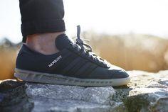 adidas Originals Hamburg Tech - Solid Grey / Dgh Solid Grey / Gum