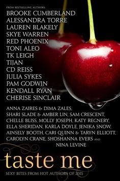Friday Freebie: Taste Me by Alessandra Torre, Lauren Blakely, Skye Warren, et al Novels To Read, Book Trailers, Romance Authors, Reiss, Book Worms, Kindle, Cover, Amazon, Ebooks