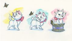Marie and the Butterfly. By Annick Biaudet. http://www.disneyartonmain.com/marie-and-the-butterfly/