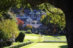 Meadowood Resort- St. Helena, CA , I miss that place.  Can't count   how many times we snuck in to use the pool in college