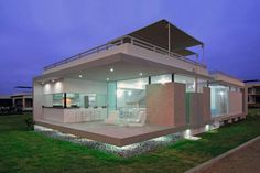 """Seaside House in Peru Webhosting Inspiring Brand New Design: Casa Viva , Interesting to observe from a variety of standpoints, Casa Viva designed by Gómez de la Torre & Guerrero Arquitectos showcases an inspiring design. The architects stated that this beach house in Playa Gaviotas, Canete, Perú""""allows natural light , Admin ,..."""