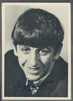 Ringo I still have this Beatle card.