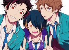 Tetora, Shinobu, & Midori   Ensemble Stars!