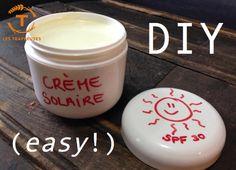 Bye bye coup de soleil : recette de crème solaire DIY