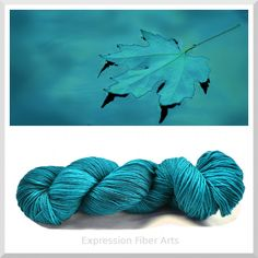 Expression Fiber Arts - TRANQUILITY - Hand-Painted Superwash Merino Wool Sock Yarn - (http://www.expressionfiberarts.com/products/tranquility-hand-painted-superwash-merino-wool-sock-yarn-92-g-340-yd.html)