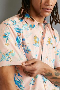 Patagonia Go-To Short Sleeve Button-Down Shirt - Urban Outfitters