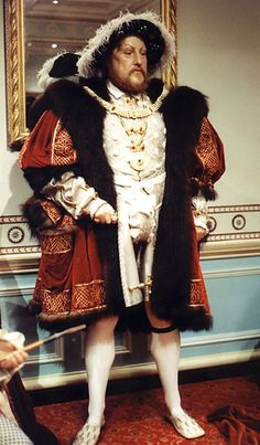 King Henry VIII wax figure at Madame Tussaud's, London. Uk History, London History, Tudor History, British History, Fashion History, African History, History Facts, Ancient History, Anne Of Cleves