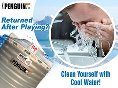 Getting fresh after a great outdoor sports is a bliss. But only if the water coming from your tap is clean and cool. Choose Penguin Tank and get cool water 24x7 all year round! #PenguinTank