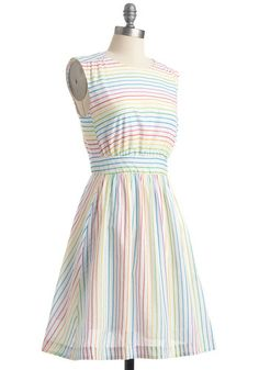 Too Much Fun dress in Rainbow, $80.