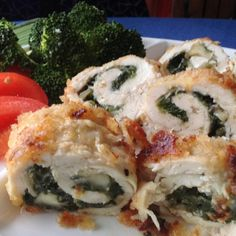 This recipe for stuffed chicken Camembert and spinach breasts is baked and not hard to make. Each bite will delight your tastebuds.