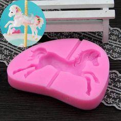 Carousel Horse Silicone Mold
