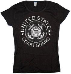 Ladies t-shirt / US Coast Guard