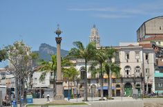 Cais do Valongo, no Rio de Janeiro, é Patrimônio Mundial da Unesco Latina, Cn Tower, Mansions, House Styles, Building, Travel, Rio De Janeiro, Viajes, Buildings