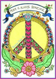 ☮ American Hippie ☮ Peace is beautiful.