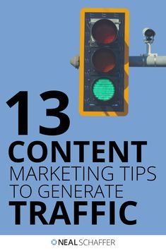 Looking to generate massive traffic back to your website through your content? You'll want to take notes on these 13 content marketing tips to implement!