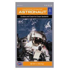 Astronaut® Cookies & Cream Ice Cream Sandwich