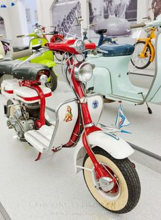 Images taken in the Casa Lambretta Museum.  http://www.philaphoto.com