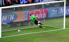 Situaties, zoals dit bekende moment uit de wedstrijd Engeland - Duitsland, zullen nooit meer voorkomen.