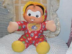 Turma Da Monica toy doll by Daysgonebytreasures on Etsy, $85.00https://www.etsy.com/listing/185685726/turma-da-monica-toy-doll