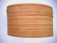 Leather belt of the Lachy Sądeckie costume, Poland