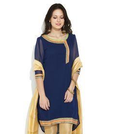 Anahi Dark Blue Ribbon Desires Ethnic Kurta, http://www.snapdeal.com/product/anahi-dark-blue-ribbon-desires/989307072