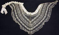 Fichu  Date: ca. 1845 Culture: European Medium: silk