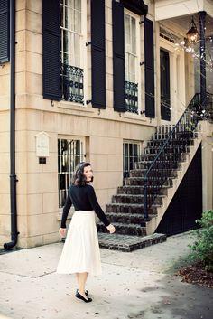 Jamie Beck looking darling in Savannah...