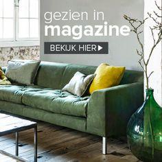 Green sofa vtwonen