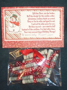 *** Jen Zimmerman: Christmas Dough Gift Idea - BLOG.