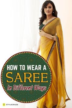 Are you a beginner looking for help? Or, a saree veteran scouting for different styles? Newly married and a novice? Fret not, here comes the 7 most popular tutorials on how to wear saree perfectly.
