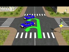 Пример неправильного выполнения разворота с трамвайных путей. Объяснение распространенной ошибки и ее последствий. Как правильно выполнять разворот в условия...