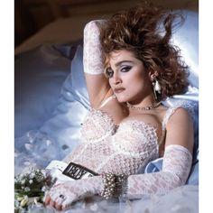 Madonna '80s inspiration! found on Polyvore