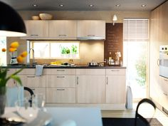 Minimalist IKEA Kitchen Cabinet Selection in Lighter Tone for Hygienic Interior Style - http://www.ideas4homes.com/minimalist-ikea-kitchen-cabinet-selection-lighter-tone-hygienic-interior-style/