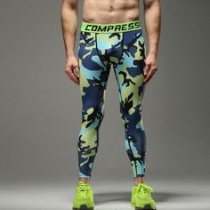 Cheap running tights, Buy Quality sport running directly from China basketball tights Suppliers: Mens compression pants sports running tights basketball gym pants bodybuilding jogger jogging skinny leggings trousers Gym Pants, Sport Pants, Leggings Are Not Pants, Mens Compression Pants, Mens Tights, Body Building Men, Blue Camo, Mens Activewear, Running Tights