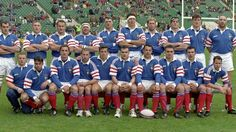 L'équipe française qui s'est imposée à Twickenham en 1997