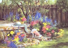 'My Garden' by Marty Bell
