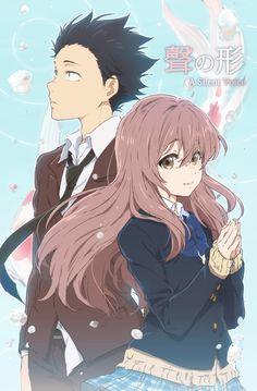 Manga Cosplay A Silent Voice Hero And Heroine Wallpaper Wall Scroll Poster Otaku Anime, Manga Anime, Anime Art, Anime Guys, Kyoto Animation, Animation Film, Anime Films, Anime Characters, Koe No Katachi Anime