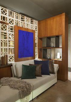 Sala da Familia do Apartamento Master por Fabio Pantaleão em Casa Cor Espírito Santo 2015