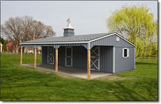 2 Stall Barn Kits | standard prices includes stall grills 1 window per stall 1 window per ...