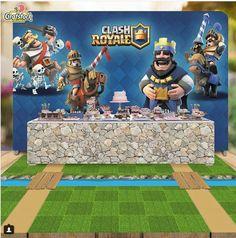 Festa Clash Royale para o Arthur – Inspire sua Festa ®