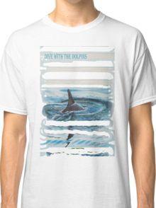 Grijze dolfijn ~ Gray dolphin Classic T-Shirt