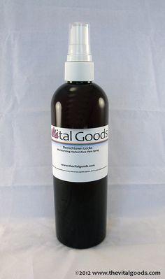 dreadlock spray Drenchtown locks Herbal Aloe vera by vitalgoods, $11.95