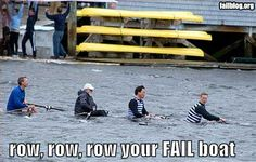 Bail out! Bail out! Boys In The Boat, Row Row Your Boat, The Row, Funny Comments On Pictures, Funny Couple Pictures, Funny Images, Bing Images, Rowing Memes, Rowing Quotes