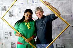 A sneak peak behind the scenes of Bambelela - Danny Antill and Sibongile Sibeko.