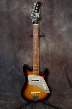 Kent Guyatone Single Pickup Polaris I Model 540 Pro Setup Plays Great 1960's Sunburst | Reverb.com..Give us a call. Lawman Guitars. 515-864-6136