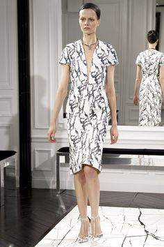 Balenciaga at Paris Fashion Week Fall 2013. Alexander Wang's BALENCIAGA debut.