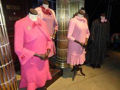 Para Umbridge todo dia é quarta-feira e ela usa rosa! #Pink #Umbridge #Wednesday (Harry Potter Studio Tour)