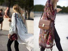 La tendance kimono